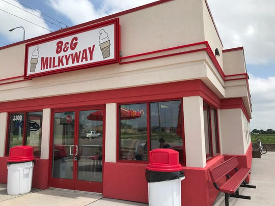 B&F Milkyway near Harmodon Park in southeast Sioux Falls recently opened.