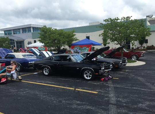 Admission is free for spectators at the 32nd Midwest Chevelle Regional Car Show on Friday and Saturday at the Oasis Hotel and Convention Center.