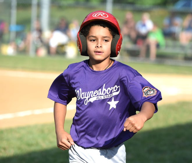 Waynesboro hosted the state Babe Ruth baseball tournament for 9-year-olds, but both the host team and South Augusta were eliminated Saturday.