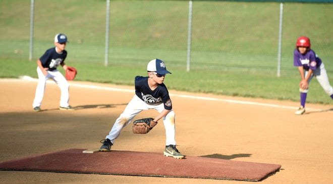 Waynesboro and Northeast Augusta were playing in the 9-year-old Cal Ripken Tournament at North Park.