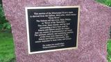 Jim Knutson-Kolodzne speaks about the new historic marker at Riverside Park on Friday, June 28, at Riverside Park in St. Cloud.