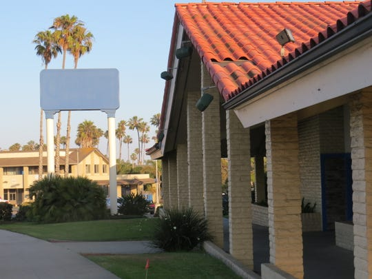 The Carrows restaurant sign was painted over this week at the chain's location at 2401 E. Harbor Blvd. in Ventura.
