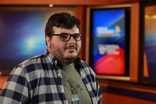 Aaron Davis, a broadcast technician at KEYT-TV, recently turned 26 and lost coverage on his mother's health insurance.
