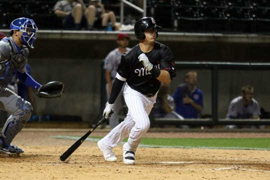 Simi Valley native Blake Rutherford, a prospect in the Chicago White Sox system, has eight multi-hit games this month for the Double-A Birmingham Barons.