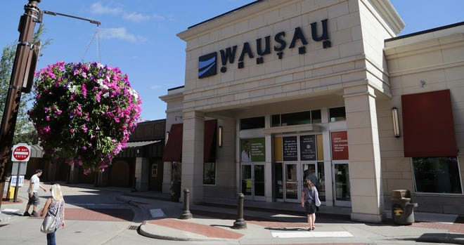The entrance to Wausau Center mall on July 23, 2013.