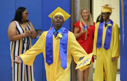 Martin Luther King Jr. High School held their  2019 commencement exercises at their school in Hastings-on-Hudson, June 28, 2019.