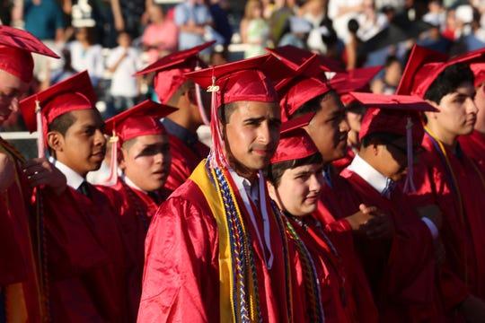 Sleepy Hollow High School graduation at Sleepy Hollow High School June 27,  2019.