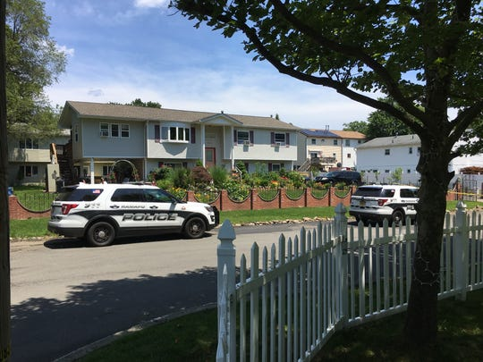 Ramapo police investigate a fatal shooting near Noyes Avenue and Van Orden Avenue on June 28, 2019.