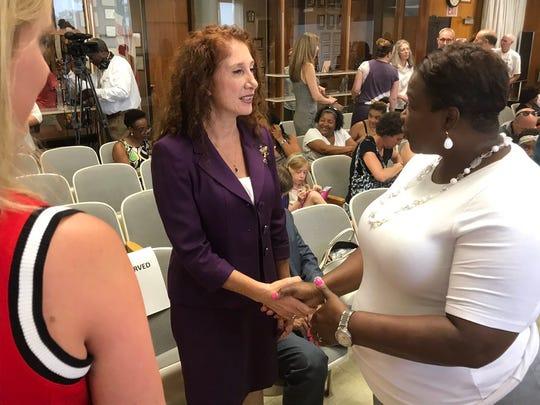 Laura Feijoo was named New Rochelle schools superintendent Friday, June 28, 2019.