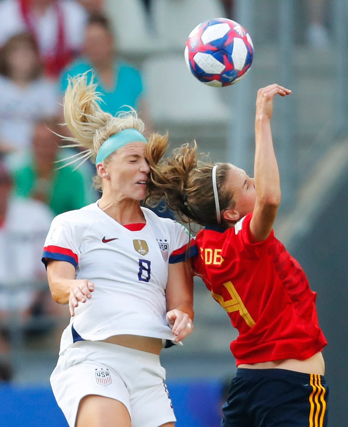 World Cup live updates: USA Soccer vs  France in quarterfinals