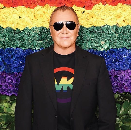 Michael Kors will donate all profits from its pride T-shirt to God's Love We Deliver, which cooks and home-delivers medically tailored meals for people.
