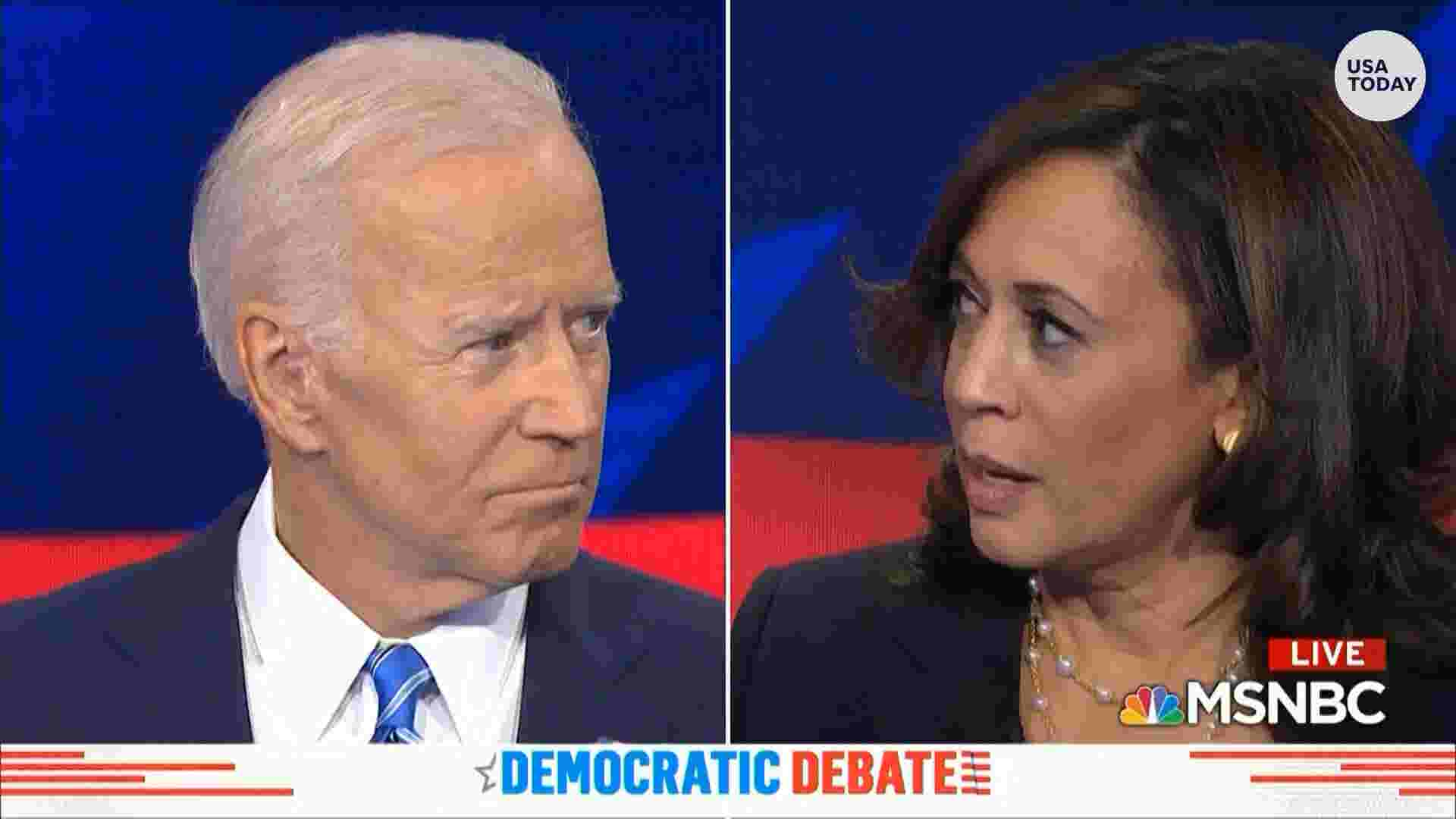 Democrats Are Spotlighting Big >> Democratic Debate 2019 Night Two Defined By Direct Exchanges But Harris And Biden Most