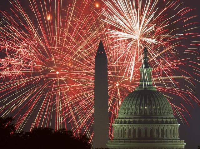 Fourth of July: How to watch fireworks on TV, more patriotic
