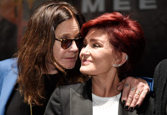 """Ozzy Osbourne and wife Sharon are not happy about President Trump's unauthorized use of """"Crazy Town."""""""