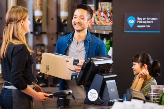 Amazon is teaming up with Rite Aid to enable shoppers to pick up their packages