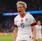 Megan Rapinoe is the people's president after her two goals helped the USWNT past host France Friday. The United State never trailed in its 2-1 win, thanks to a fifth-minute goal from the co-caption.