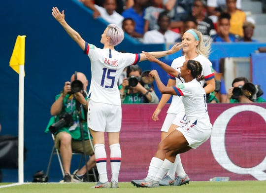 Live updates: United States defeats France in Women's World Cup quarterfinals