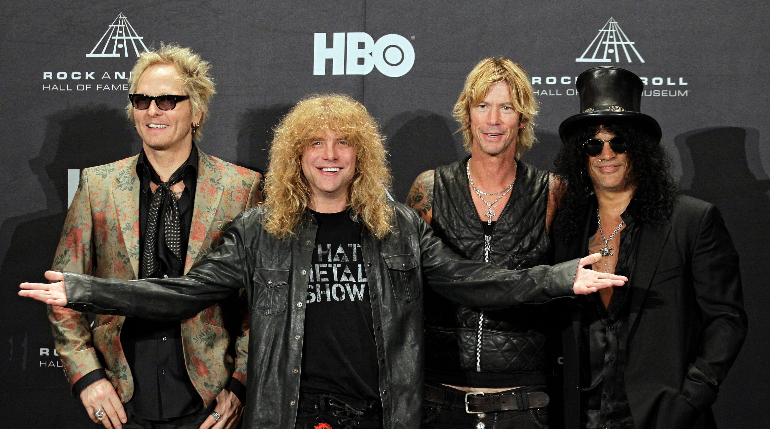 Guns N' Roses' Steven Adler hospitalized with injuries
