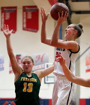 Appleton East standout Emily La Chapell, who will be a sophomore, is drawing heavy interest from Division I college basketball programs.