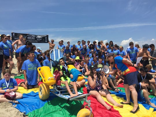 Best Day Foundation helps kids with special needs enjoy the beach and ocean water