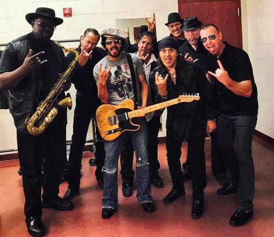 The Springsteen Experience does a Bruce Springsteen tribute at the Rock Yard at Fantasy Springs on Saturday