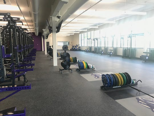 The new weight room at the Panther Fitness Center, which opened at a ceremony at Elder High School Saturday, June 29, 2019.