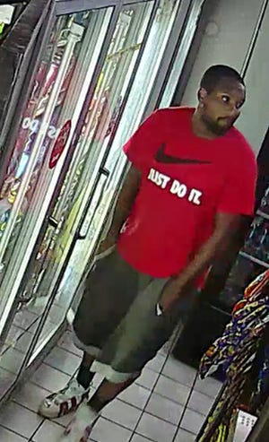 Detroit police say this man is a suspect in the Friday night shooting of a 13-year-old child and 23-year-old man in Detroit.