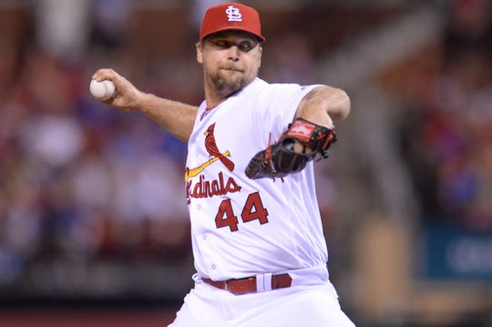 Trevor Rosenthal made 93 saves for the Cardinals in 2014 and 2015.