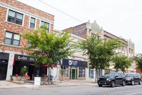 The Jefferson Chalmers neighborhood