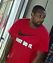 Police released a photo of a suspect.