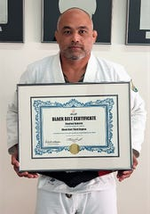 Purebred BJJ Guam founder and head instructor Stephen Roberto attained the rank of Black Belt Third Degree, conferred by the International Brazilian Jiujitsu Federation on Friday.