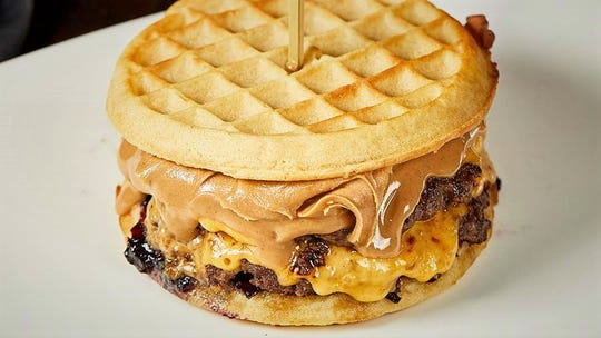 "Eggos, burgers and peanut butter are everything good about ""Stranger Things"" and Indiana at Burger Study, which features the Stranger Things Burger to celebrate the show's Season 3 debut."