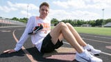 Brighton's Jack Spamer is the Livingston County boys' track and field Athlete of the Year after winning two regional titles.
