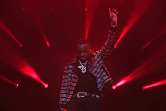 Yo Gotti performs at the Yo Gotti & Friends Birthday Bash on June 28 at FedExForum.