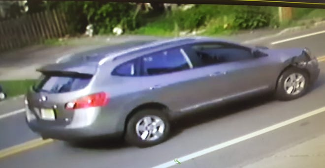 The Nissan involved in a fatal hit-and-run in Madison June 28,2019.