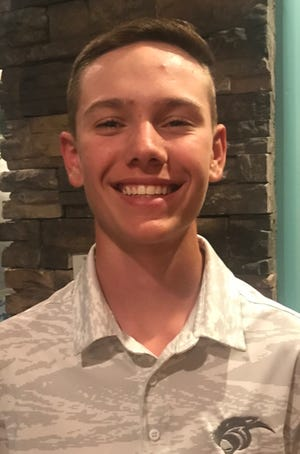 Piedra Vista's Quinn Yost was one of nine golfers selected to play at four-day golf academy hosted by Sir Nick Faldo on Aug. 21-24.