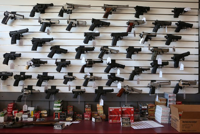 A new California law starting July 1, 2019, requires gun stores to do a point-of-sale background check in order to sell ammunition.