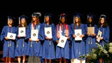 Scenes from Poughkeepsie High School's 2019 commencement ceremony.