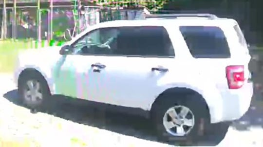 Surveillance image of the vehicle that Worcester County authorities say suspects in a Whaleyville home invasion used.