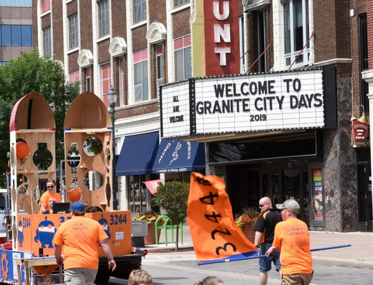 The Paramount Center for the Arts welcomes fans to Granite City Days, Saturday, June 29, 2019 at the Granite City Days Parade.