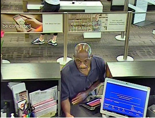 Police said Calvin Jackson attempted to rob a Port St. Lucie bank, but left empty handed. He was caught minutes later.