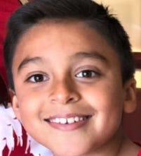 Leonardo Ortega, 8, is 3 feet 9 inches tall, weighs 65 pounds and has black hair and brown eyes. He was last seen wearing a white shirt, underwear and navy-blue crocs.