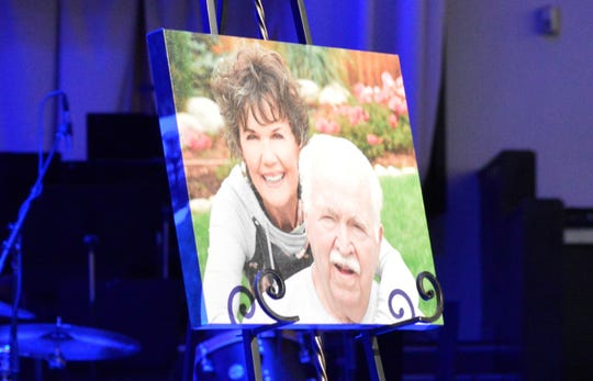 A celebration of life was held for former Redwood High School and College of the Sequoias head football coach Roger Kelly, pictured right in photo, on Saturday at GateWay Church in Visalia.
