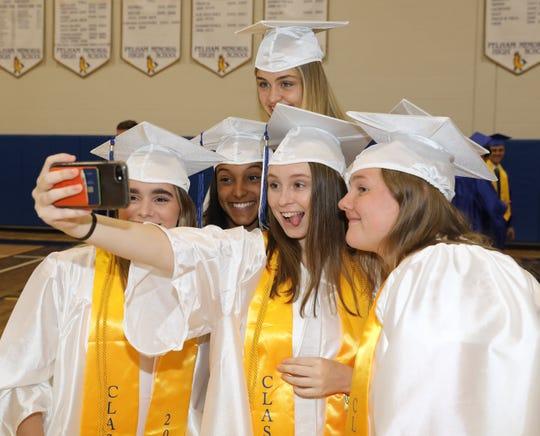 Pelham Memorial High School held their 106th commencement exercises at their school in Pelham, June 29, 2019.