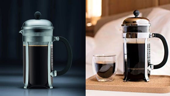The Bodum may just brew the best cup of coffee you've ever had.