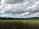 A farm field sits under dramatic skies in Richmond, Vt., on Saturday, June 29, 2019.