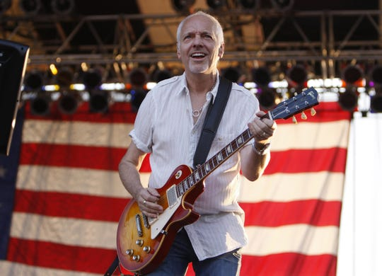 July 4, 2010: Rock star Peter Frampton performs during Fourth of July activities during the annual Red, White & Blue Ash bash in Blue Ash.