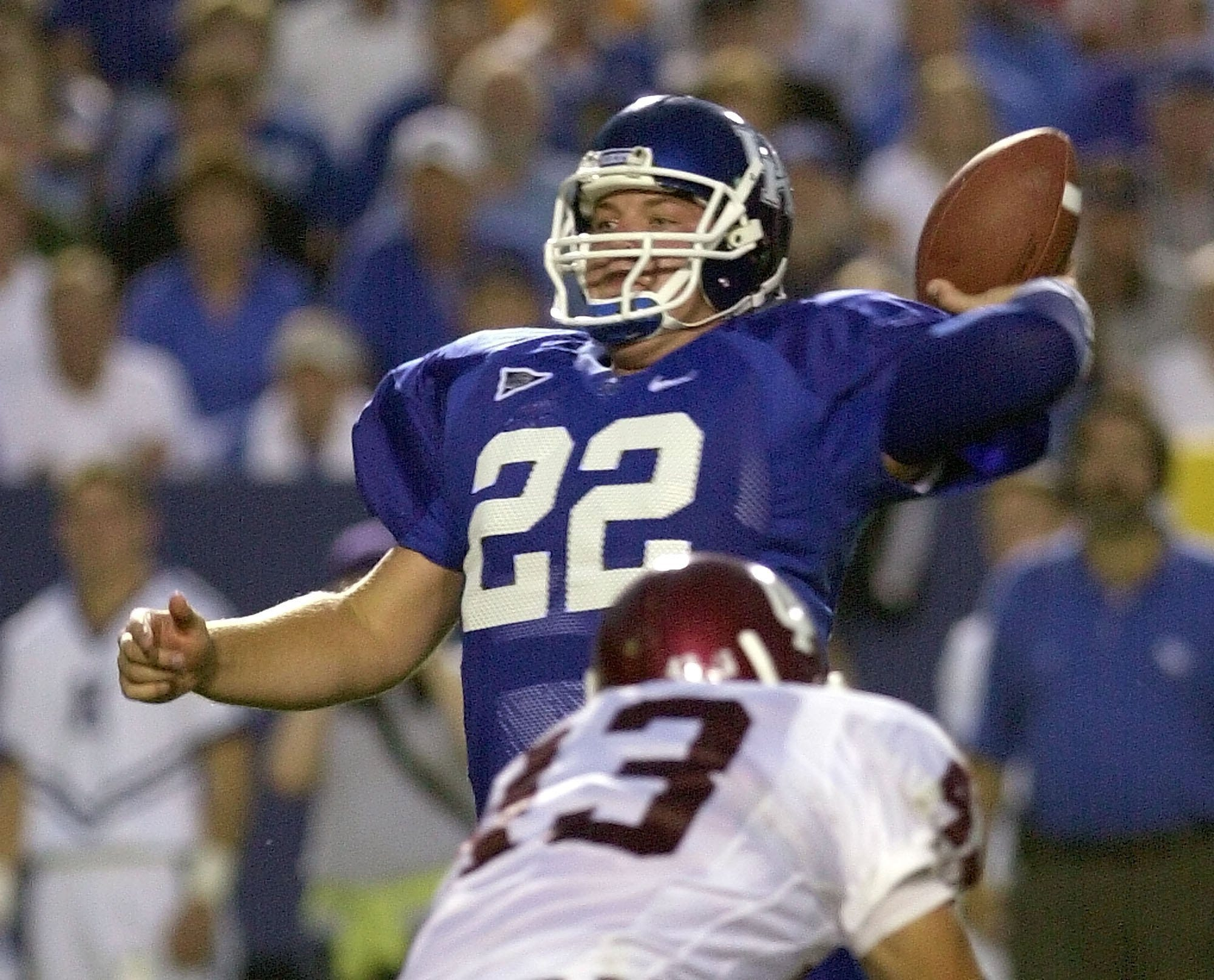 Former Kentucky star QB Jared Lorenzen 'fighting with everything he has' in hospital