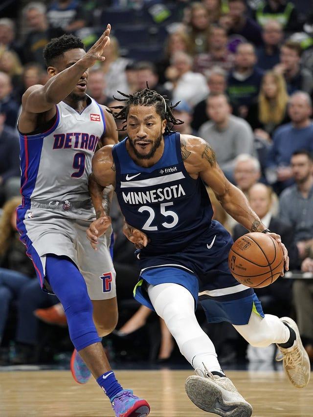 43d4ab3e4 Detroit Pistons have bet on Derrick Rose's 'instant buckets'