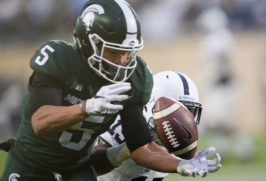 Former Michigan State receiver Hunter Rison says he'll play football next season at Fullerton (Calif.) College.